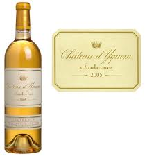 Chateau d'Yquem, Sauternes, France - 375ml 2007-6 bottle case