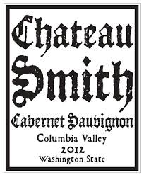 Charles Smith 'Chateau Smith' Cabernet Sauvignon, Columbia Valley,2012