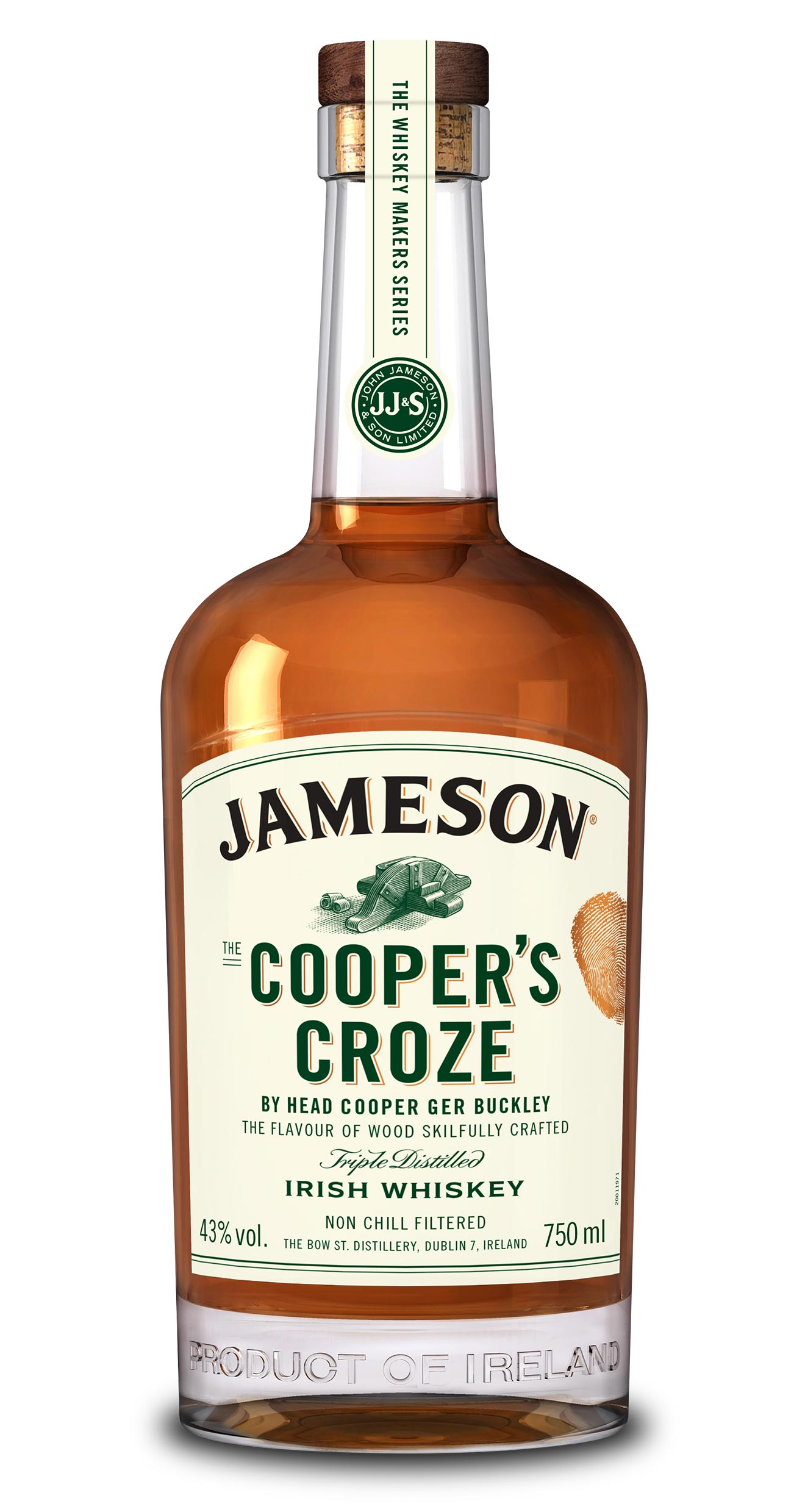 Jameson Cooper's Croze Irish Whiskey- 750ML