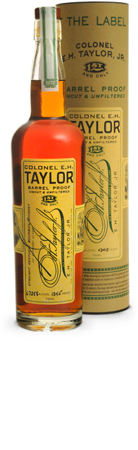 Colonel E.H. Taylor Barrel Proof Uncut & Unfiltered Kentucky Straight Bourbon Whiskey, Kentucky