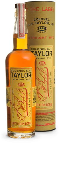 Colonel E H Taylor Straight Rye Straight Kentucky Rye -750ml