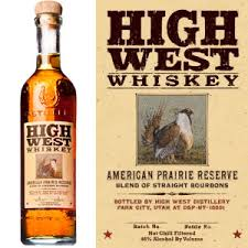"High West ""American Prairie Reserve"" Bourbon Whiskey (750ml)"