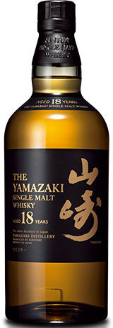 Yamazaki 18 Year Old Single Malt Whisky,