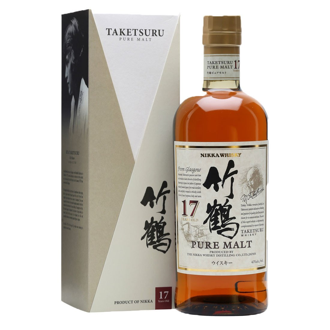 Nikka Taketsuru 17 Year Pure Malt 750ml ABV