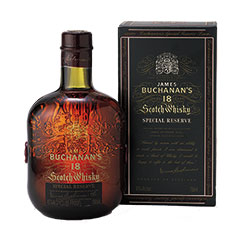 Buchanan's Special Reserve 18 Year Scotch