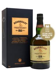 Redbreast 21 Year Old Single Pot Still Irish Whiskey, County Cork, Ireland
