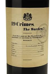 19 Crimes The Warden Reserve, South Eastern Australia 2016