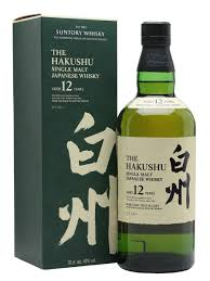 Hakushu 12 Year Old Single Malt Whisky, Japan