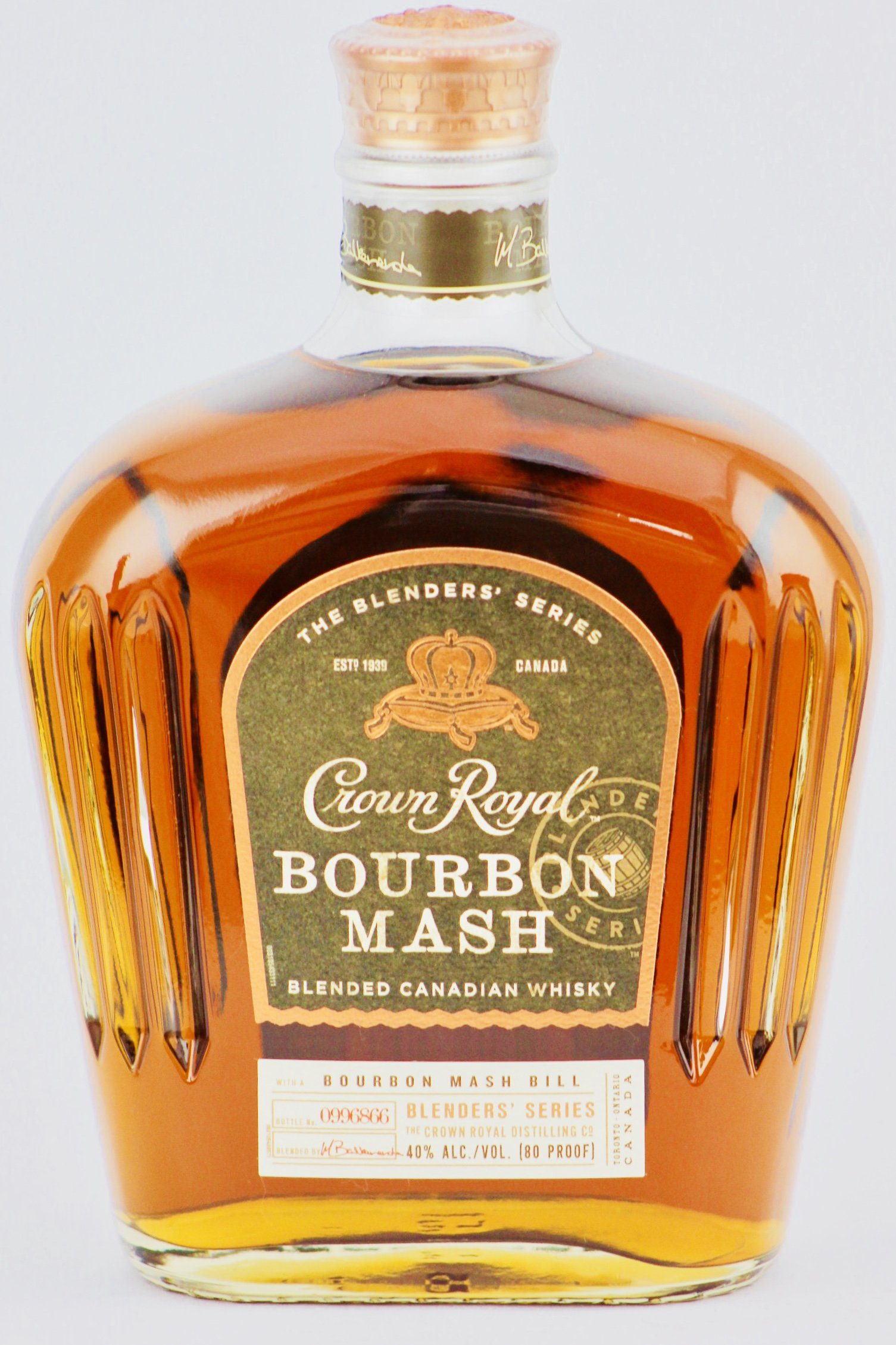 Crown Royal Bourbon Mash Canadian Whisky - 750ml