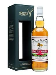 George and J G Smiths 21 Year Glenlivet Whisky 750ml
