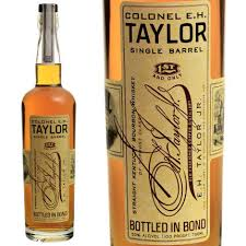 Colonel E.H. Taylor Single Barrel Straight Kentucky Bourbon Whiskey, Kentucky,