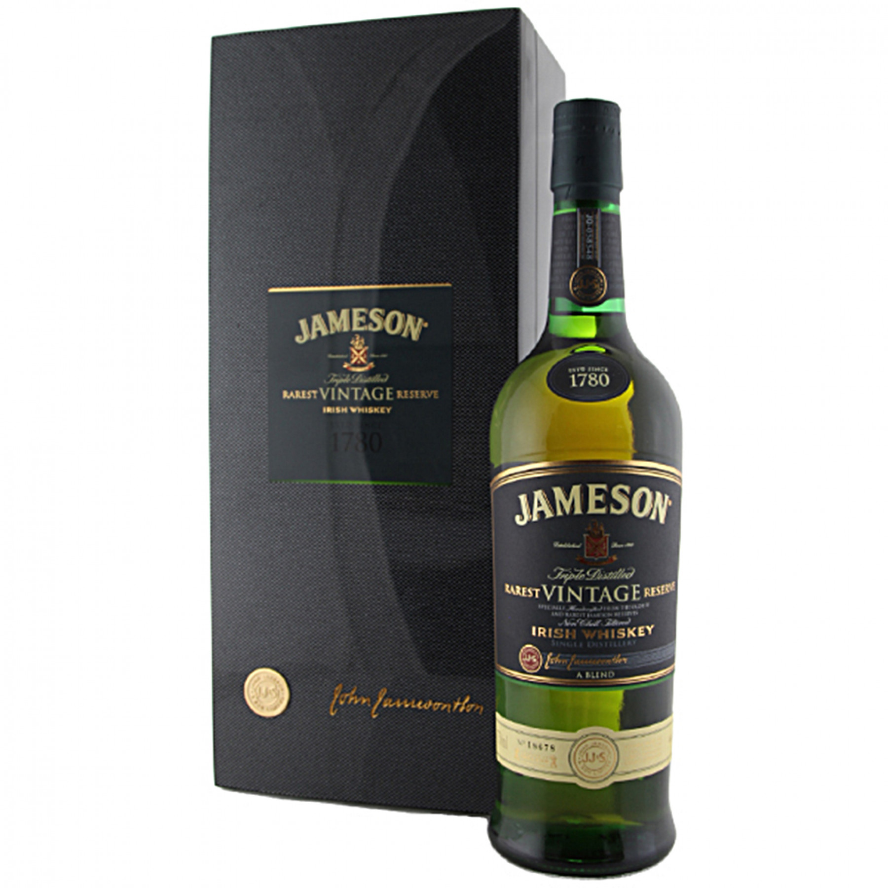 Jameson Rarest Vintage Reserve Blended Irish Whiskey, Ireland 750ml
