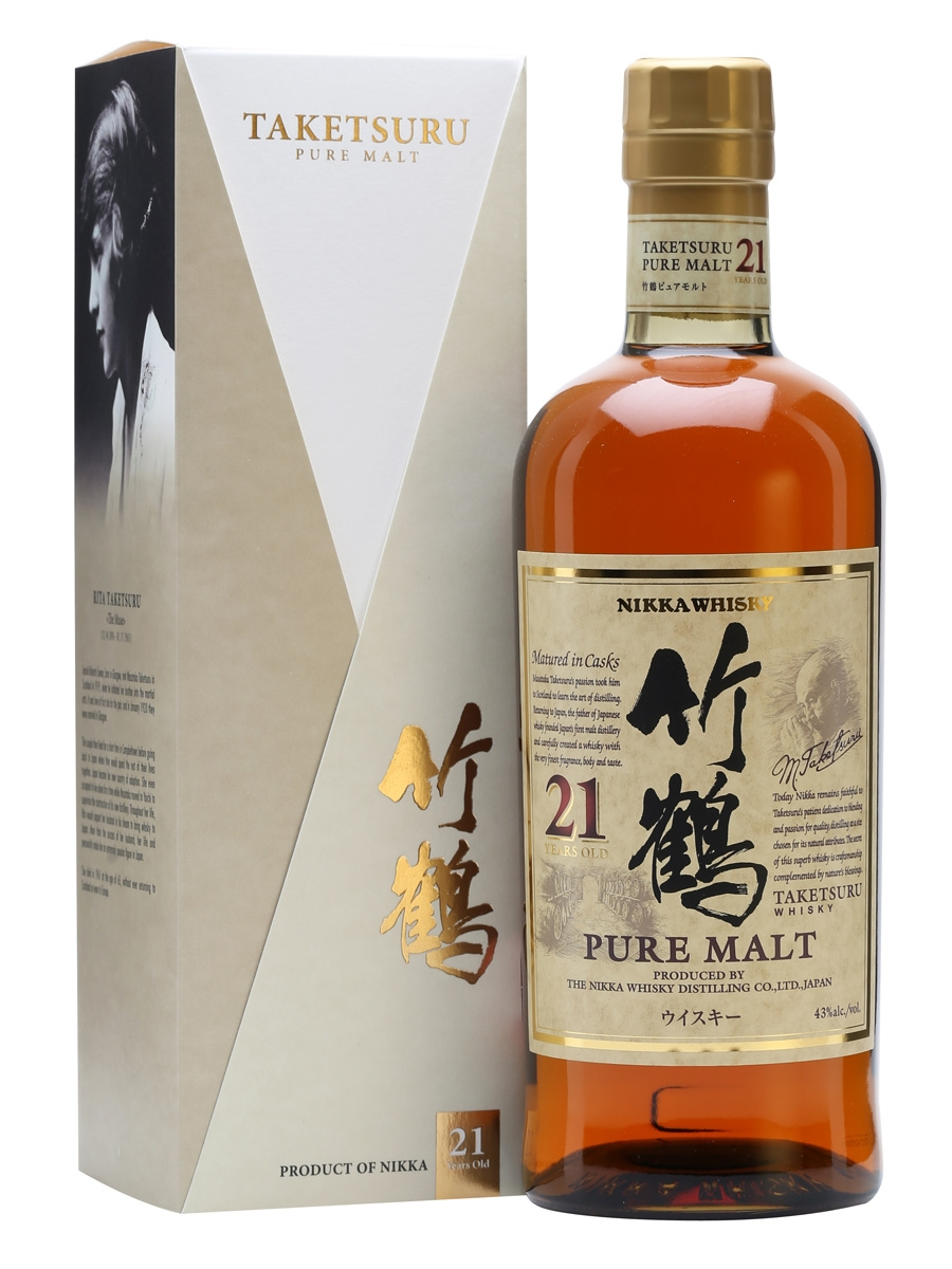 Nikka Taketsuru 21 Year Pure Malt 750ml ABV 43%