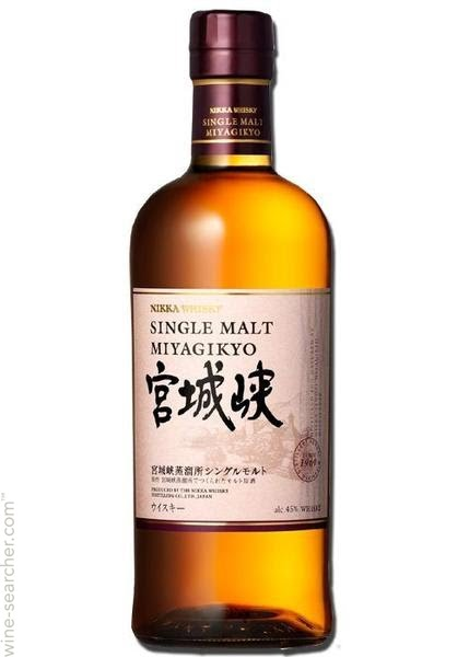 Nikka 'Miyagikyo' Single Malt Japanese Whisky, Japan-750ml