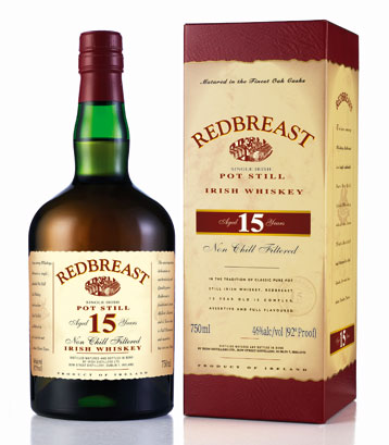 Red Breast Irish Whiskey 15 yr - 750ml