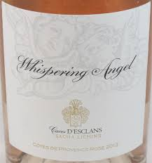 Chateau d'Esclans Whispering Angel Rose-Rose from Provence, France 2015